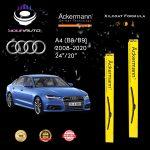 yourauto audi a4 (2008 2020) pro range ackermann xilcoat wiper