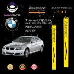 yourauto bmw 3 series (e90 e92) (2005 2010) pro range ackermann xilcoat wiper