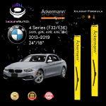 yourauto bmw 4 series (f32 f36) (2013 2019) pro range ackermann xilcoat wiper