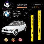 yourauto bmw x1 (e84) (2010 2015) pro range ackermann xilcoat wiper