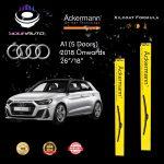 yourauto audi a1 (5 doors) (2018 onwards) pro range ackermann xilcoat wiper