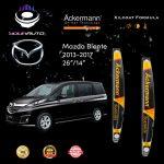 yourauto mazda biante (2013 2017) flexi range ackermann xilcoat wiper